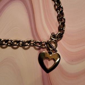 Tiffany style heart necklace